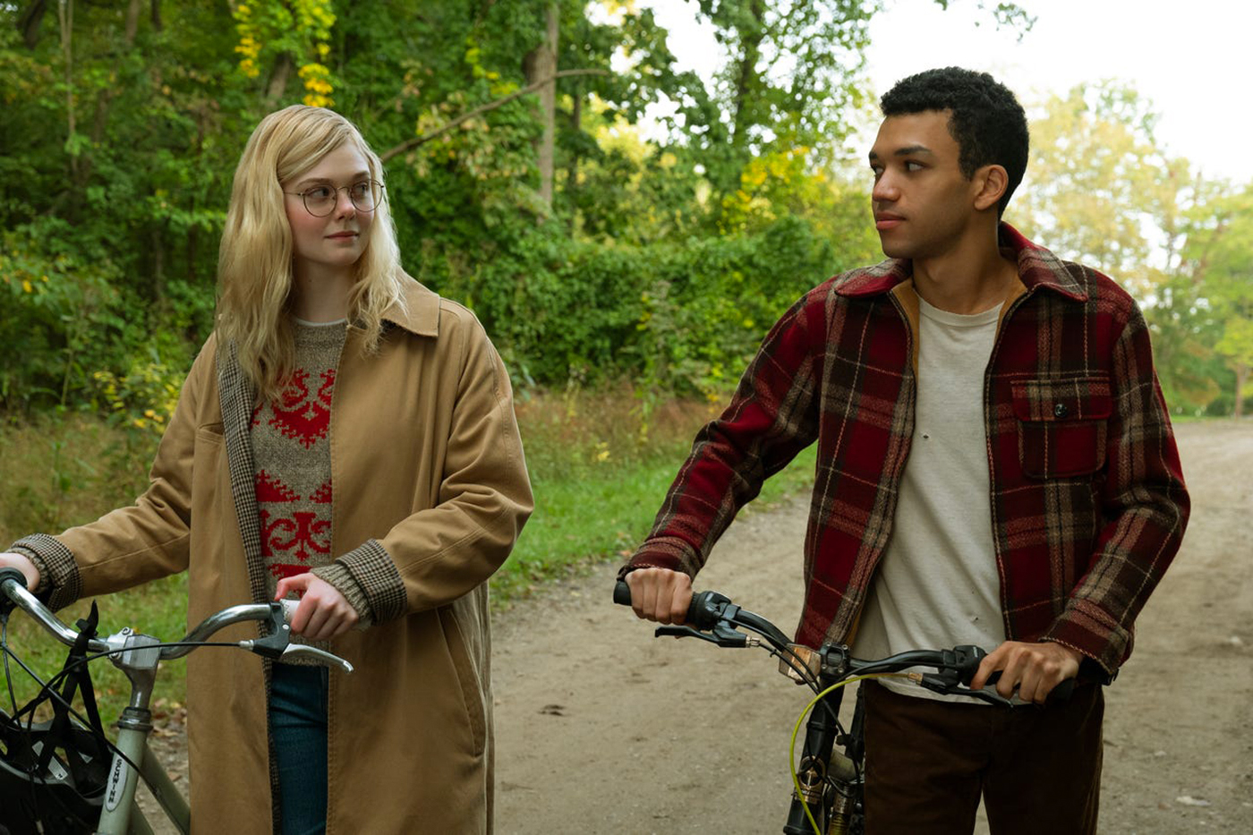 All The Bright Places follows Violet and Theodore as they're partnered together for a class project where their relationship expands and eventually goes beyond friendship.