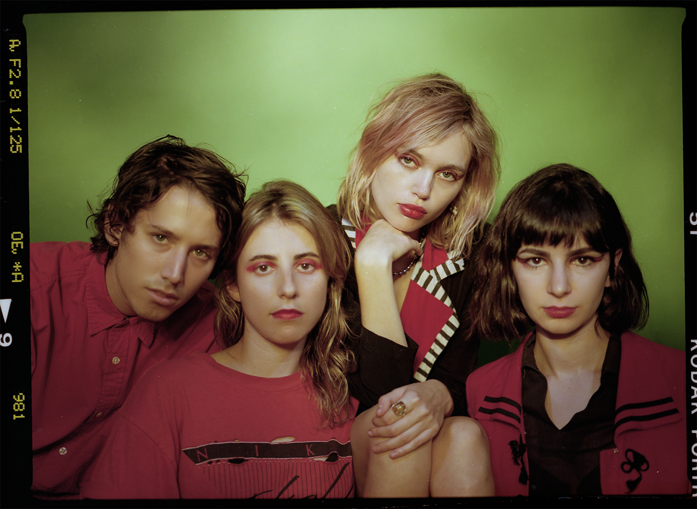 The Paranoyds lineup is all very close. Having met in highschool, they became best friends.