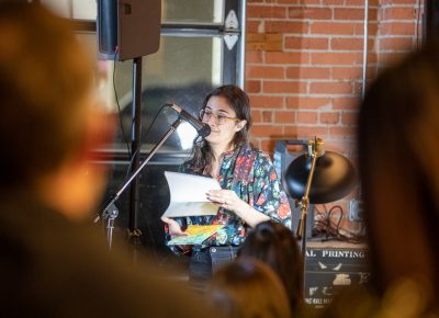 Jaqueline Balderrama reads her poems. She's a Mexican American poet and author of the chapbook, Nectar and Small (Finishing Line Press 2019). Look for her next collection of poems, Now in Color, in September.
