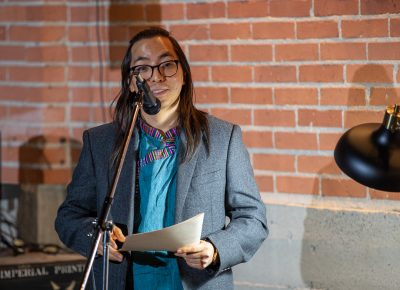 Samyek Shertok reads a few of his poems to celebrate the launch of Lightscatter Press. Originally from Nepal, Shertok's poems draw from his blend of Nepalese and American cultural experiences.