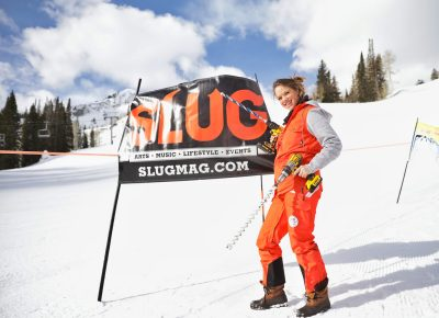 SLUG Staff are serious about getting things setup right at the SLUG 20th Anniversary Meltdown Games at Brighton Resort.