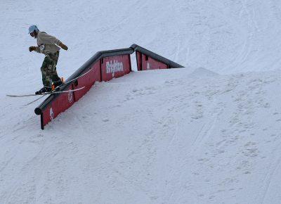 Reid Hendrix, on rail.