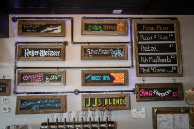 Heber Valley Brewing features an ever-rotating set of taps.
