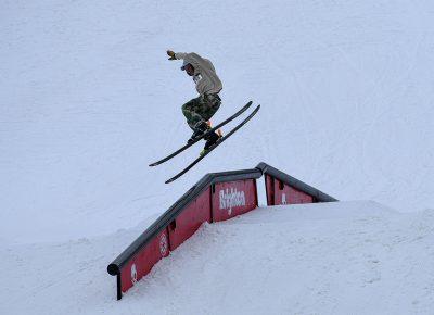 Reid Hendrix, gapping rail.