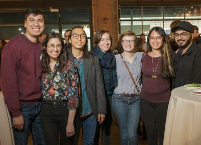 (L–R) The Lightscatter Press Launch Party brought out students from schools around the valley including SLCC, Westminster and the University of Utah.