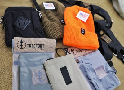 Treefort Lifestyle Products are on display and for sale at the SLUG 20th Anniversary Meltdown Games at Brighton Resort.