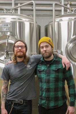 (L-R) Jeff Bunker and Jack Kern of Proper Brewing
