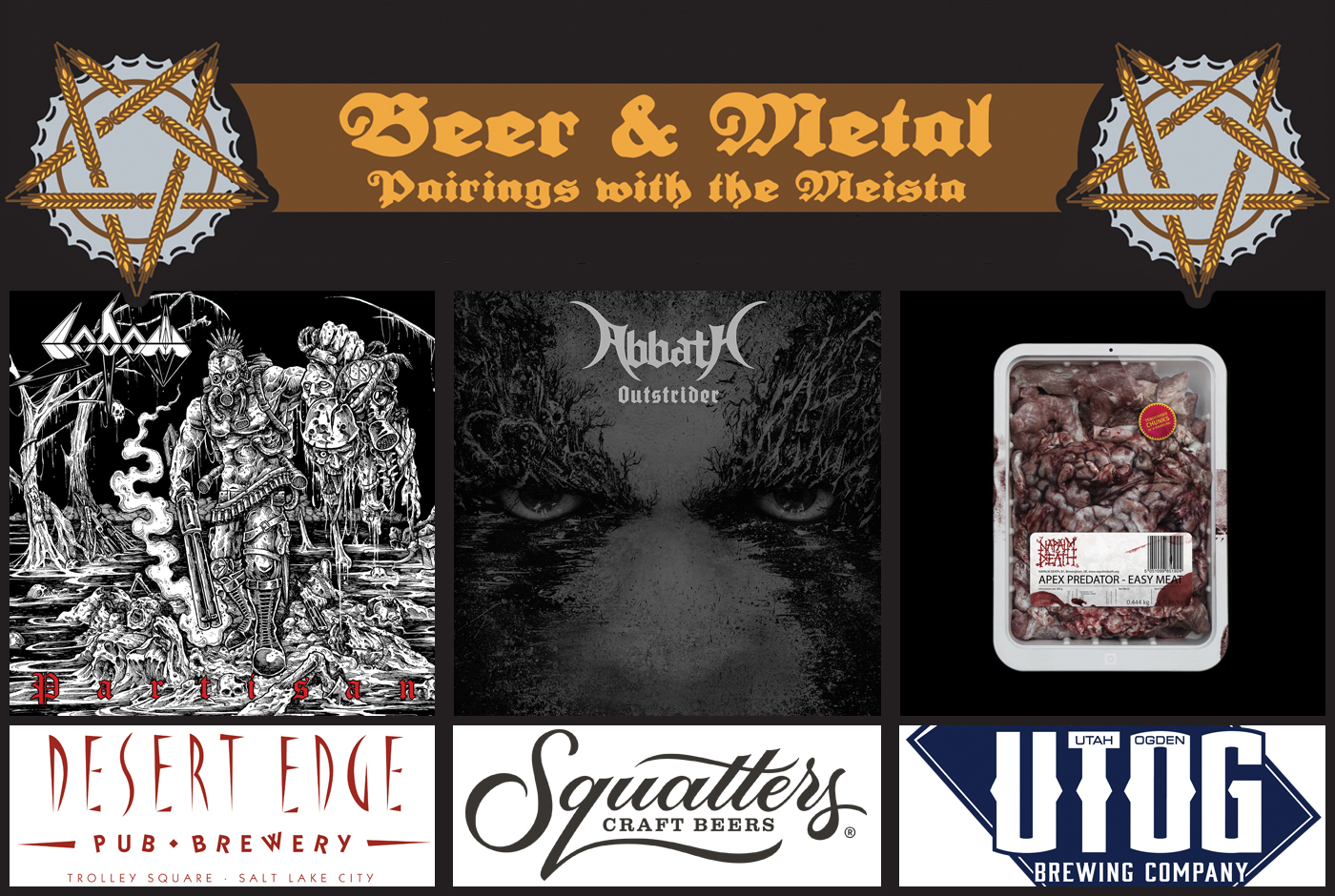 Beer and music go together, but beer and metal are almost meant to be—and that's what we're doing here with the help of The Meista.