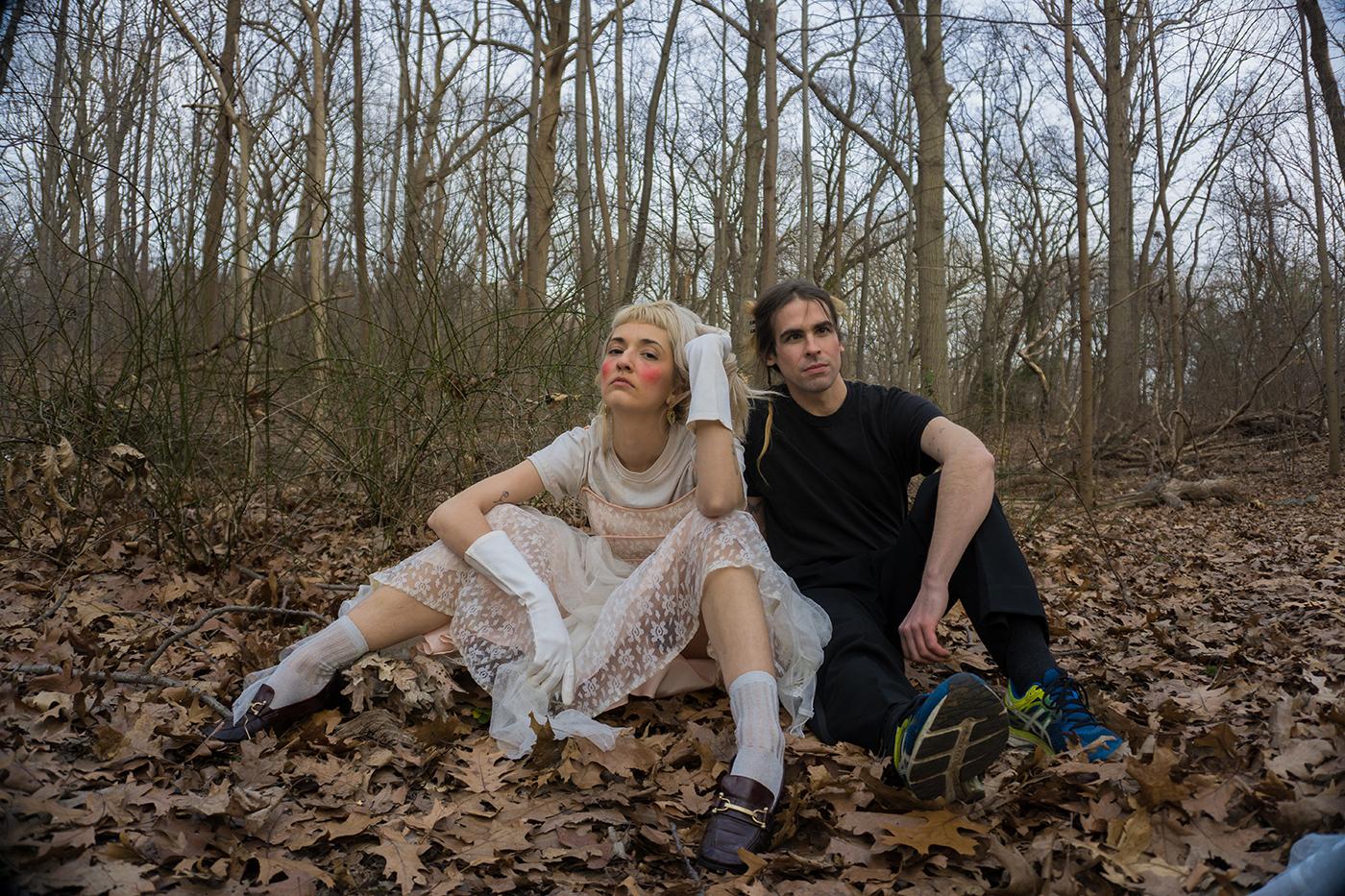(L–R): LEYA is Marilu Donovan and Adam Markiewicz.