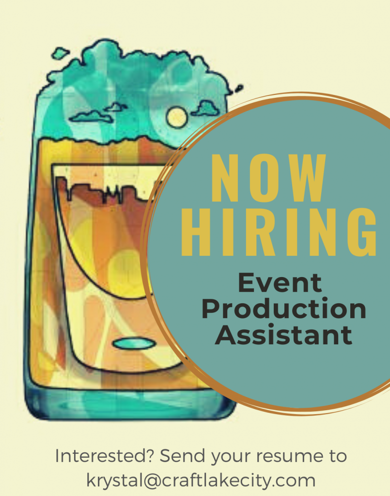 Now Hiring: Event Production Assistant