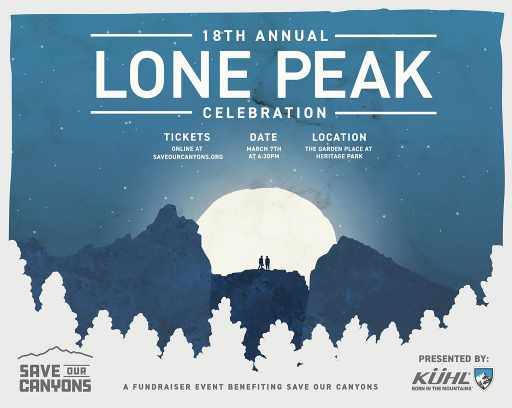 Rally Around the Wasatch: the Save Our Canyons 18th Annual Lone Peak Celebration