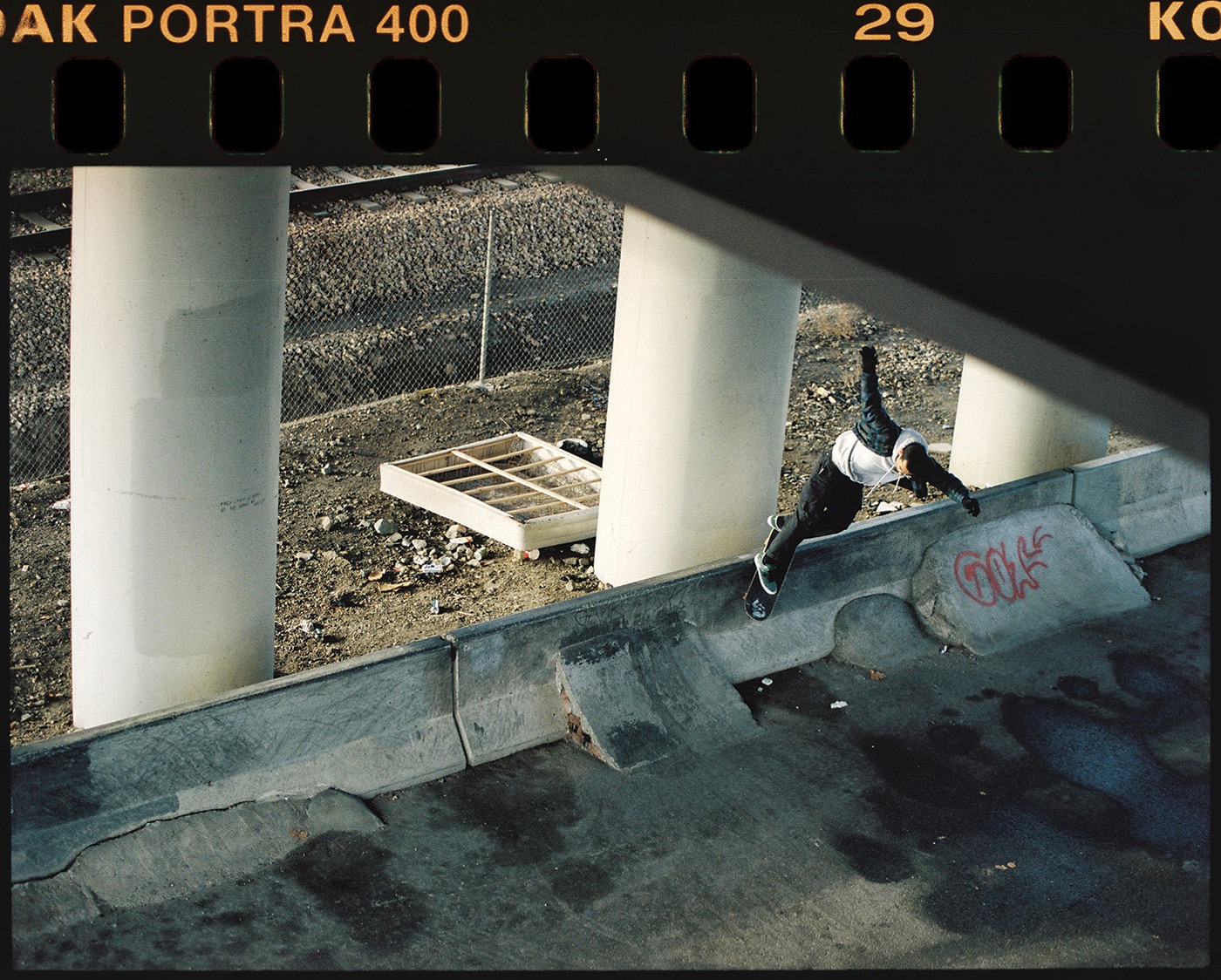 Jordan Vigil - Backside Smith Grind - 600 North Bridge