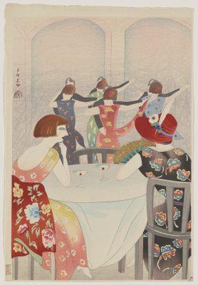 """Yamamura Koka – """"Dancing at the New Carlton Cafe in Shanghai"""""""