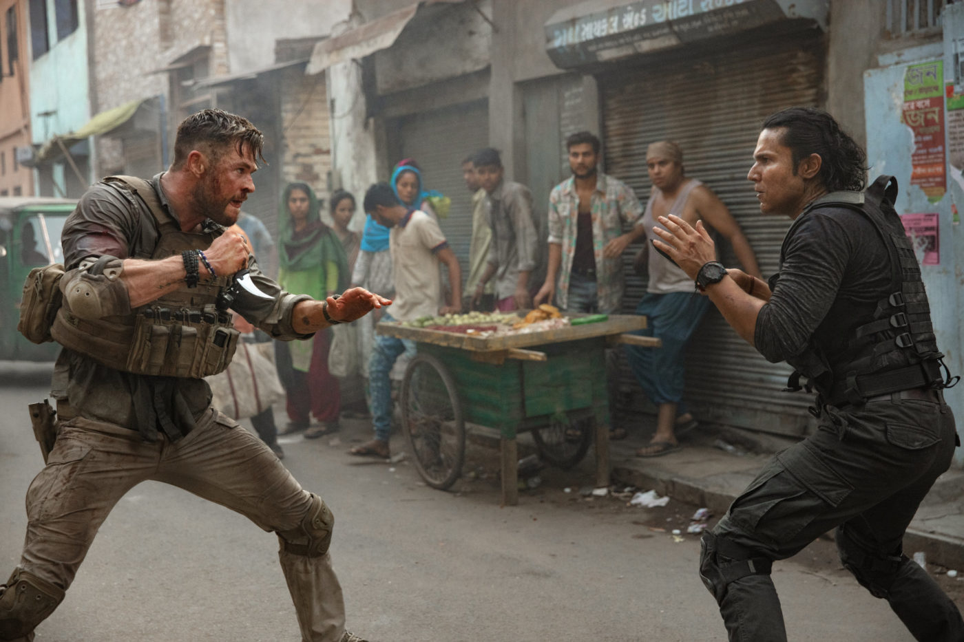 Extraction isn't quite as deep as it wants you to think it is, but it is certainly a better-than-average action thriller with some actual surprises and engaging situations.