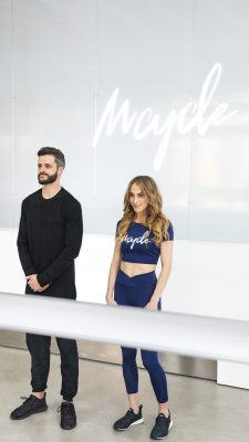 (L–R) Richmond and Megan, co-founders of Salt Lake's MCycle