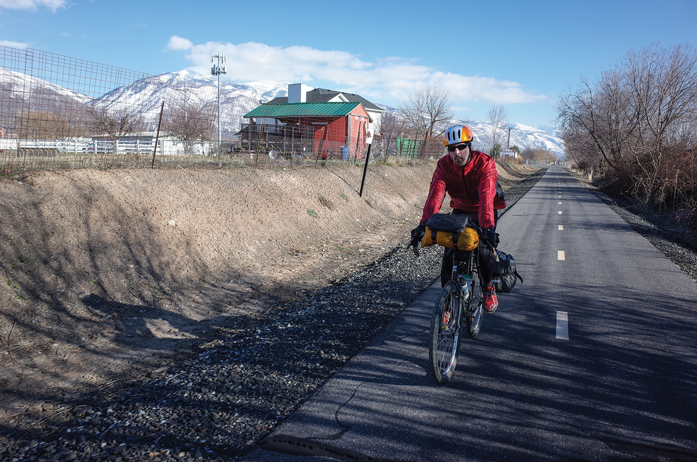 In June of 2018, a bicycle-path network from Provo to Ogden running over 100 miles, was finally completed with the construction of the Jordan River Bridge in Salt Lake City.