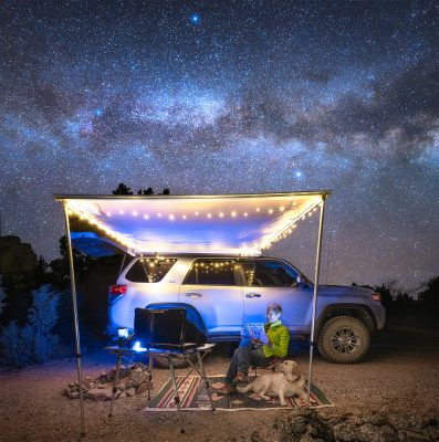 Christine Kenyon, Chilling Under the Stars, 2019, from On Location.