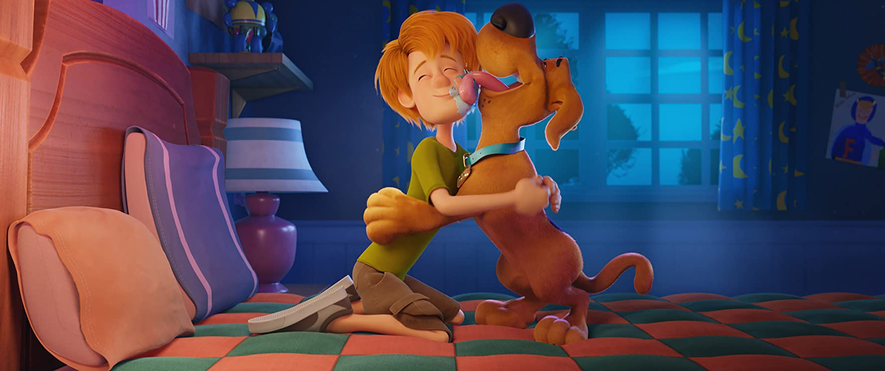 Scoob! is exciting enough to entertain kids with just enough winking cleverness aimed at adults so they're able to sit through with the little ones.