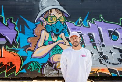 Chris Owens is the Creative Director of 1520 Arts, a nonprofit dedicated to maintaining and growing the presence of hip-hop culture in Utah. Mural by @chew26k and @mrvandal