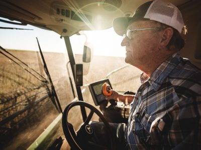 Michael Kunde, Nutrien Soy Farmer, 2018, from the Nutrien Ag Solutions campaign.