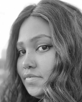 Ashley Finley is a consistent advocate for social justice and change. She does this through her work as a poet and in her everyday life.