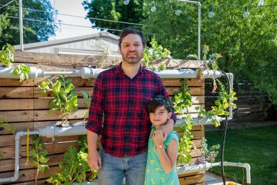 The father-daughter team at Home Glow Hydroponics wants to take your home gardening to the next level.