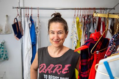 """""""I've gotten more and more involved in my clientele's closets over time, from closet clean-outs to outfit planning and styling to personalized shopping trips to fill in the gaps,"""" Baber says."""