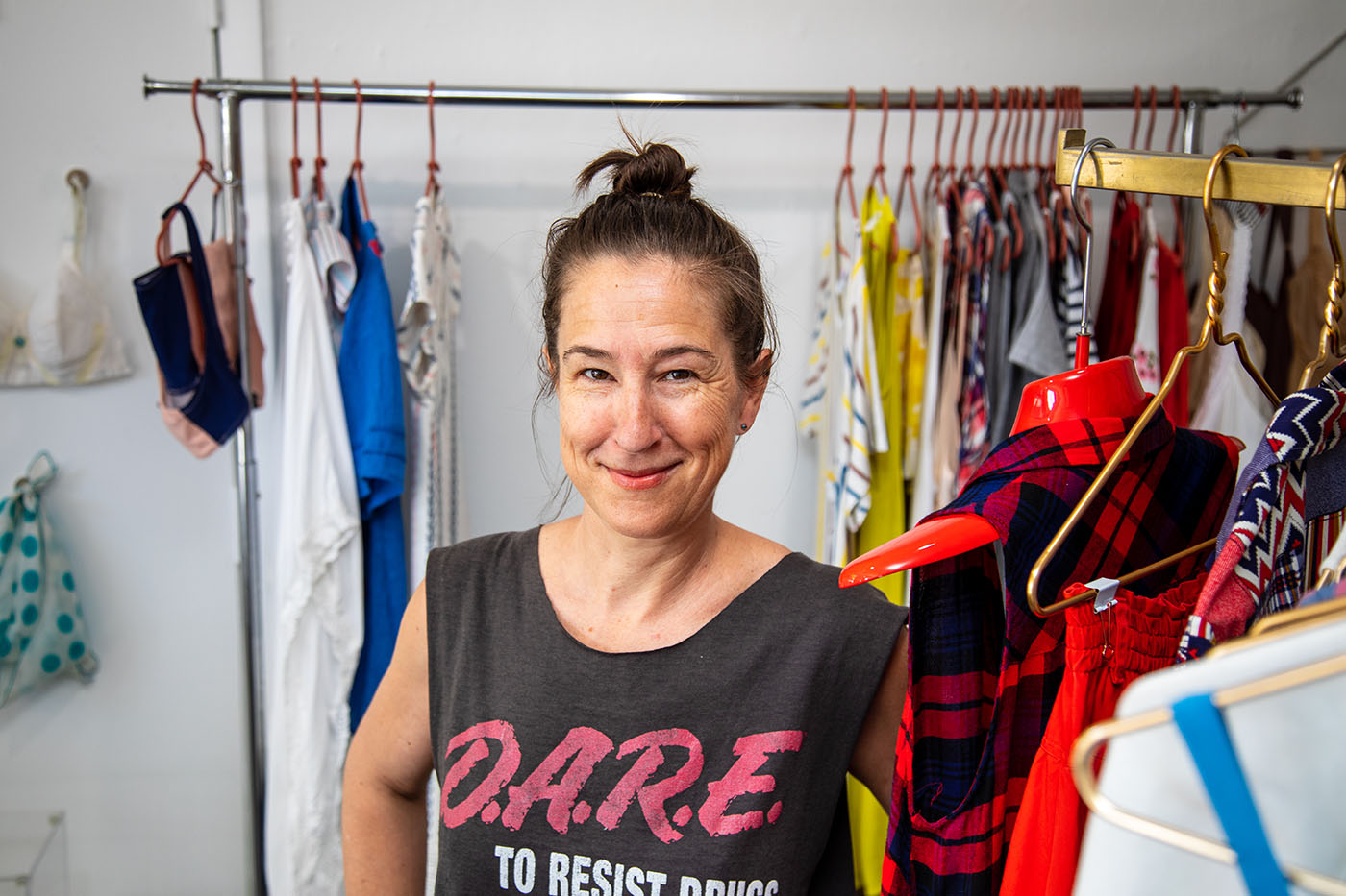 """I've gotten more and more involved in my clientele's closets over time, from closet clean-outs to outfit planning and styling to personalized shopping trips to fill in the gaps,"" Baber says."