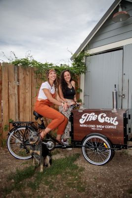 Look for the Cart outside of your office or at a local trailhead for a midday pick-me-up.