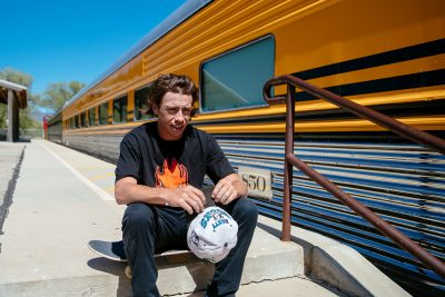 Heber's Riley Winch celebrates the local community of skaters and advocates for more skating events that bring people together.