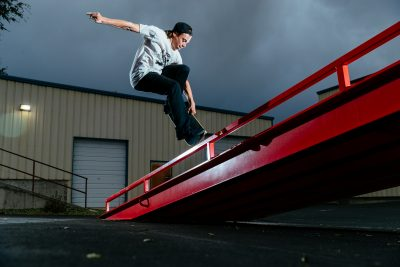 Nose grind yank-out