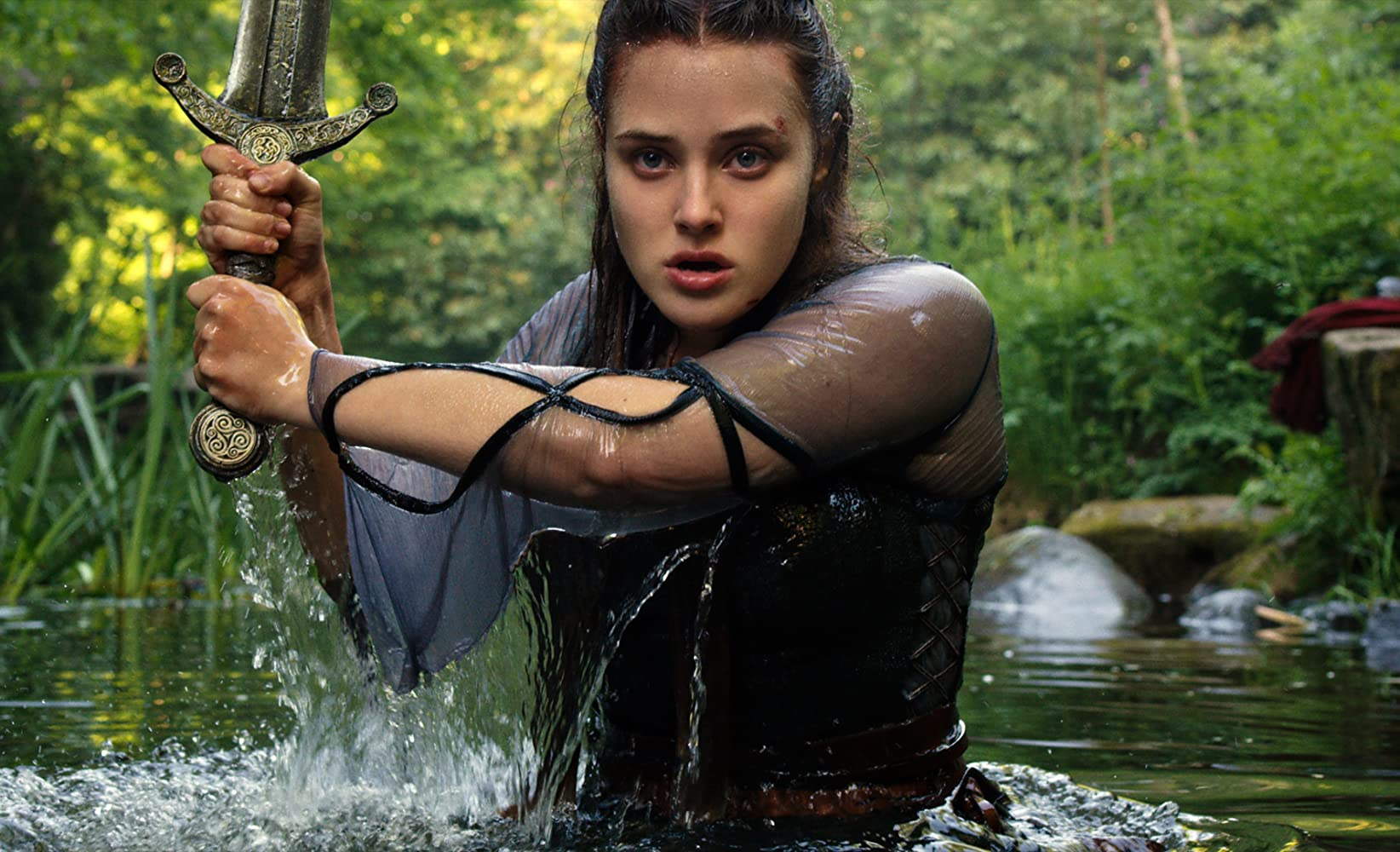 Cursed has enough to be enjoyed if you like medieval fantasy and feminist action heroes, though the series doesn't warrant a recommendation.