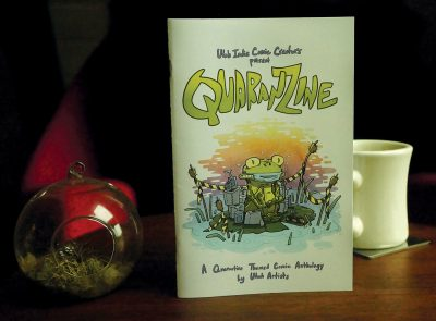 Quaranzine is a quarantine-themed zine curated by D. Bradford Gambles and SLUG illustrator Spencer Holt, featuring local illustrators' comics about living in the age of COVID-19.