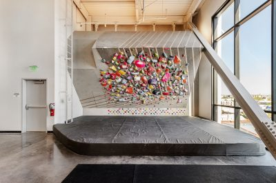 "This ""spray wall"" is an ideal venue for climbing to pack in an intense and efficient training session."