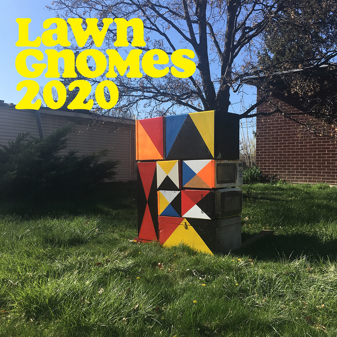 UMOCA's Lawn Gnomes 2020 is a growing exhibition of art installations that lives on the front lawns of artists across the state.