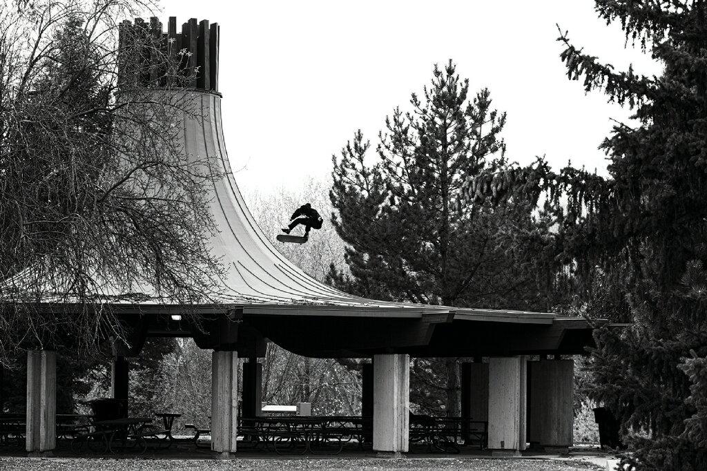 Tyson Bowerbank—Kickflip—SLC, Utah