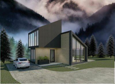 Kelcie Buchanan, 1,000 sq ft Tiny House