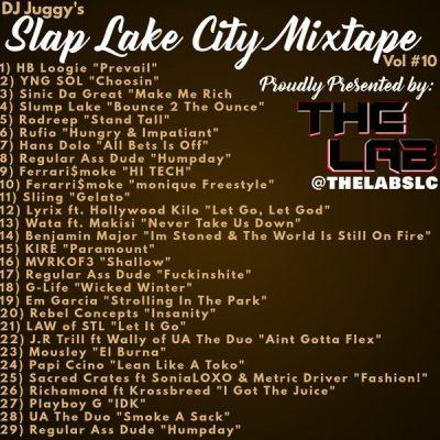 Various Artists – DJ Juggy | Slap Lake City Vol #10 | Self-Released