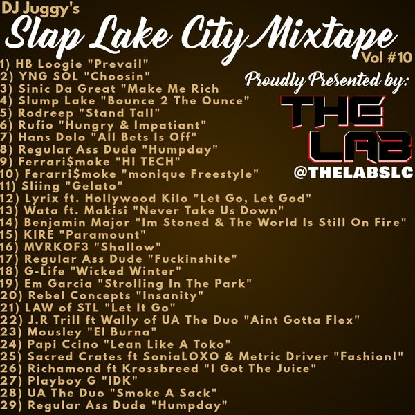 Review: Various Artists – Slap Lake City Vol #10