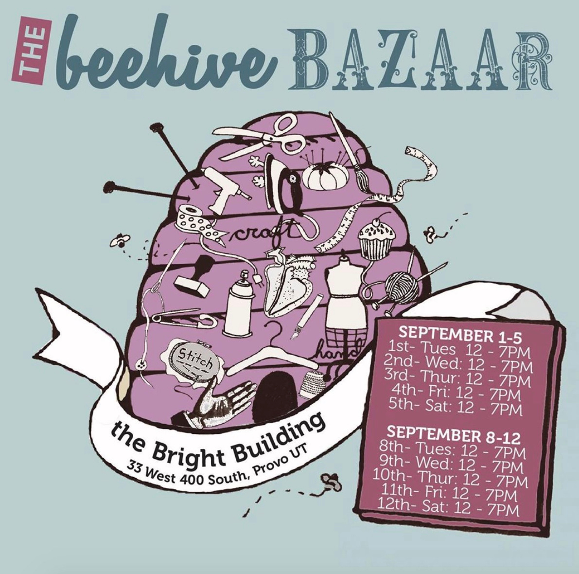 Fall 2020 Beehive Bazaar Handmade Art And Craft Fair Slug Magazine