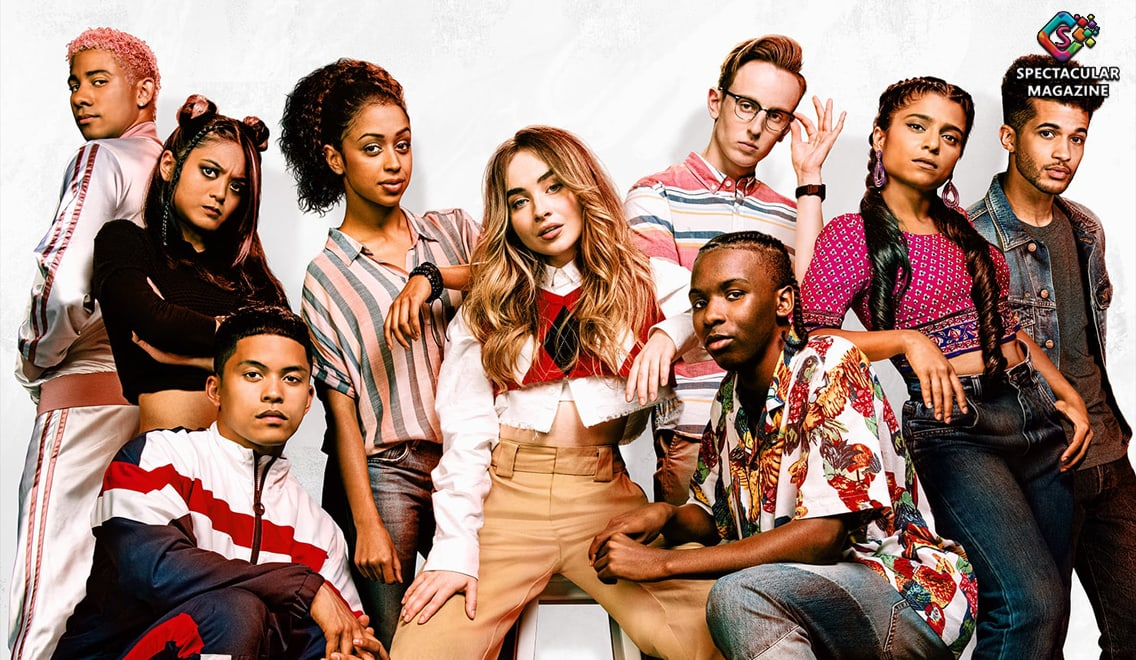 Starring Sabrina Carpenter and Liza Koshy, Work It is light as a feather, and it's a pleasant enough diversion that will get your feet tapping.