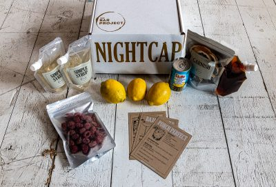 The Bar Project's Nightcap series offers ingredients and recipes to help fancify your at-home cocktail experience.