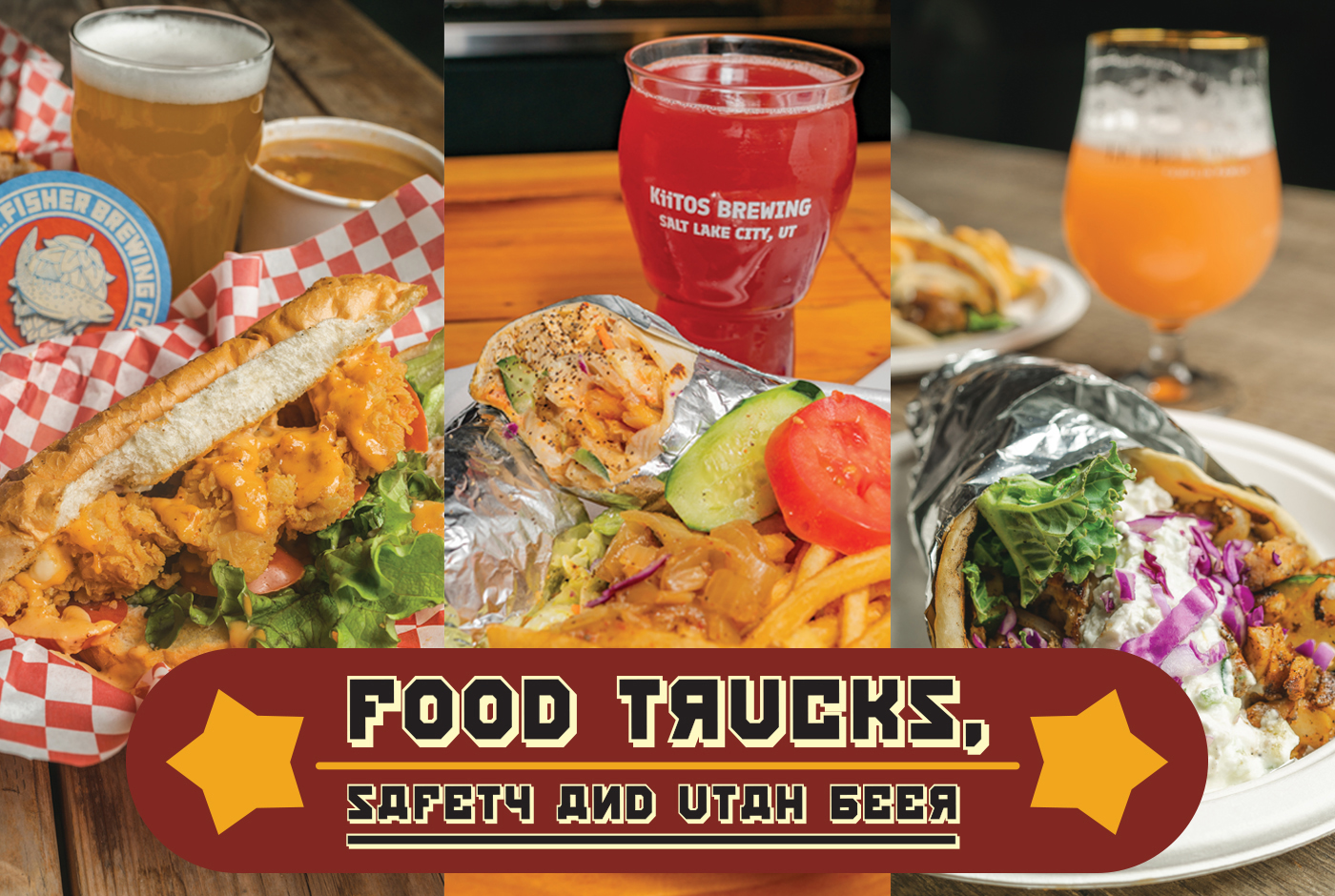 These breweries are serving up a safe way to go on a beer run and grab a bite from a variety of rotating food trucks. Check them out and show your support!