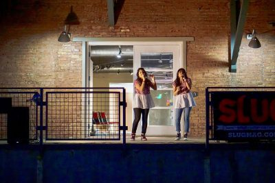 Sibling duo Aarushi and Amishi closed out the September SLUG Picnic with their fusion of Bollywood and Western pop music.