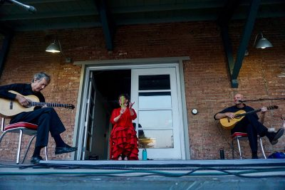 Flamenco Del Lago opens up their co-headlining set
