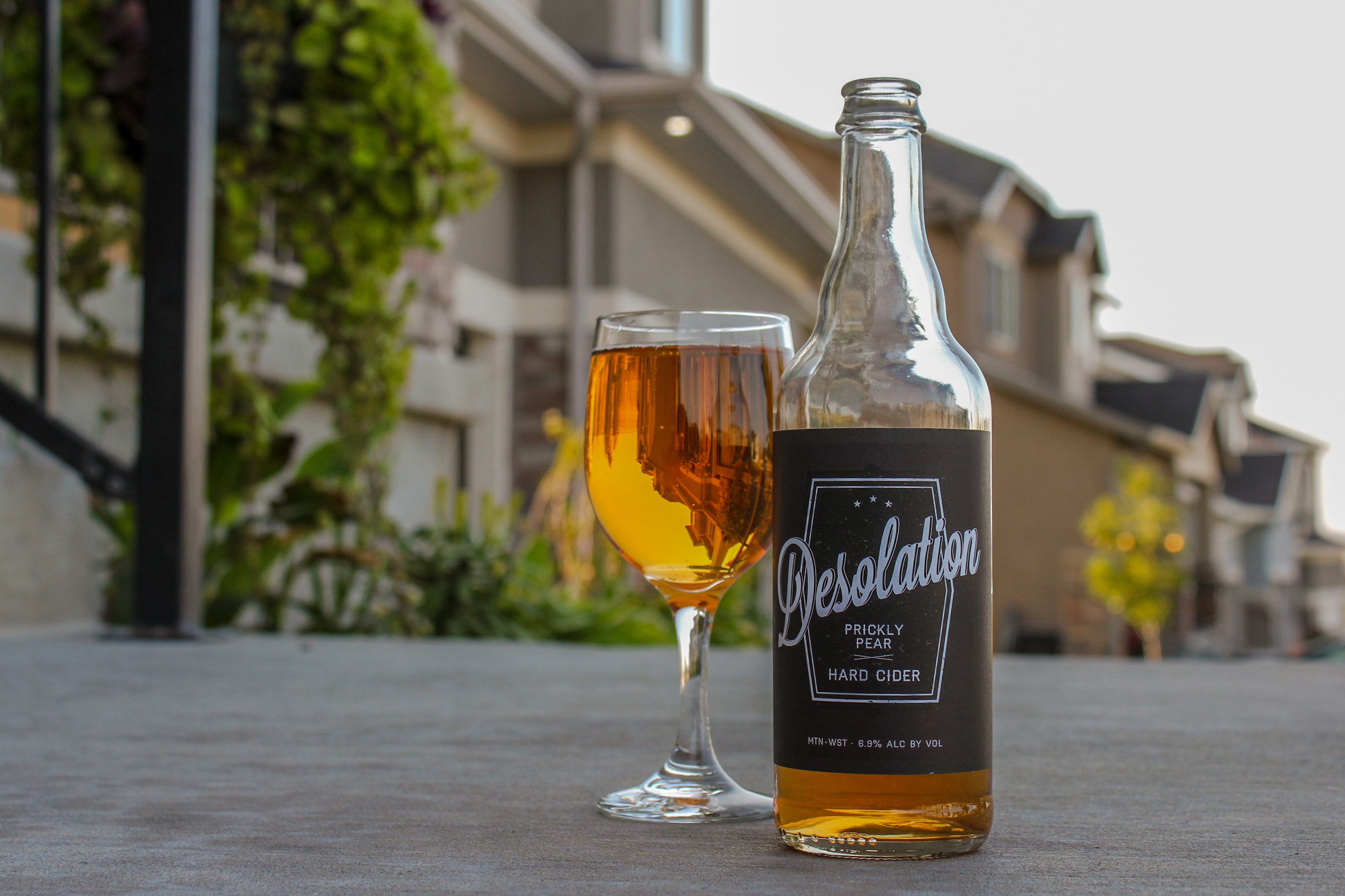 "This month, Chris and Sylvia Hollands are trading out the classic ""Beer of the Month"" for a cider: specifically, the Desolation Prickly Pear Hard Cider."