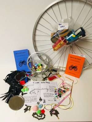 Clever Octopus' Bike to the Future Kits emphasize the creative potential of a trash-to-treasure mindset.