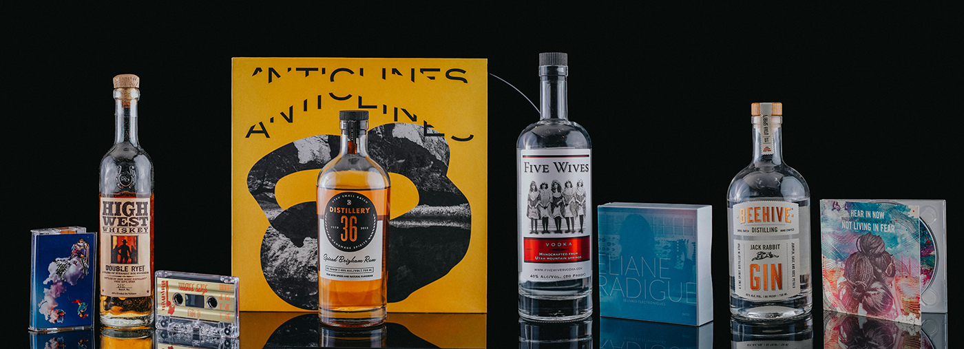 "Following April's ""Beer + Metal Pairings,"" we're looking at four locally distilled spirits and pairing them with excellent albums of experimental music."