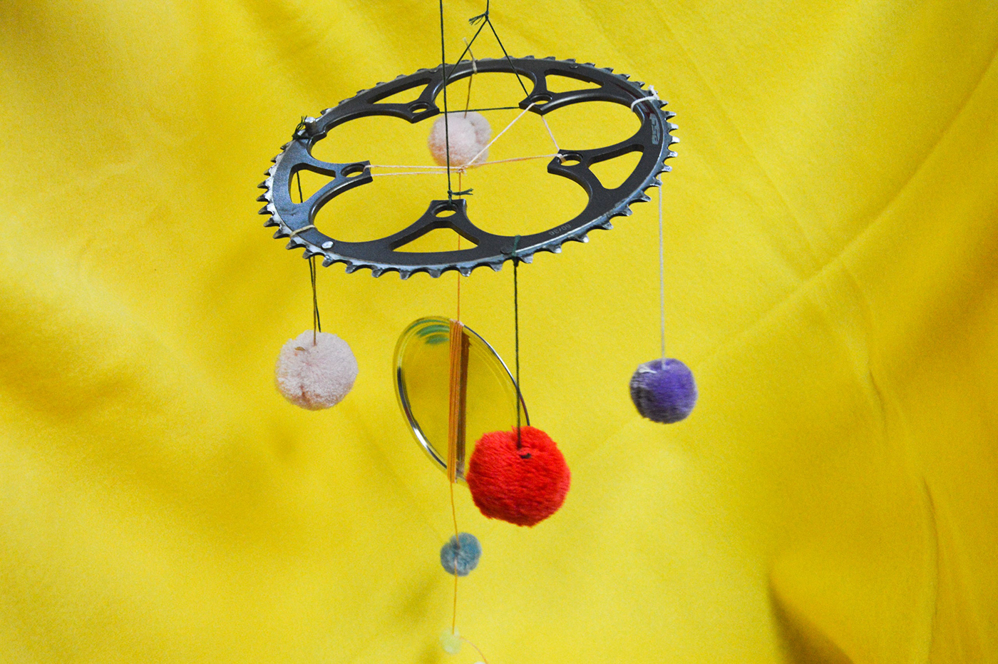 The Bike To The Future program is helping kids and adults express themselves through the artistic repurposing of bicycle parts.
