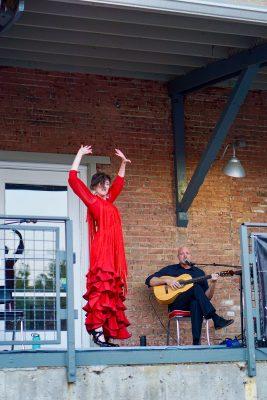 Flamenco Del Lago's set was nothing short of dazzling.